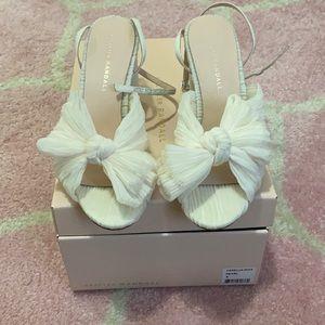 Loeffler Randall Camellia Sandals in Pearl —size 8